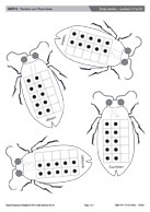 Dotty beetles - numbers 11 to 20