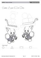 Kitten shape search