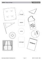 Match 2D shapes