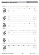 F Forward Roll Letters bB