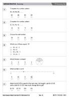 Y3 Numeracy Test