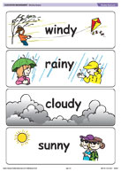 Weather flashcards 1