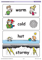 Weather flashcards 2