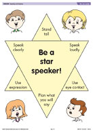 Be a star speaker