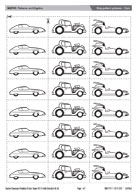 Strip pattern pictures - Cars
