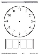 Large analogue and digital clocks