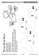 Three Blind Mice - Number rhyme