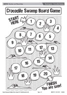 Board game - Crocodile Swamp