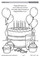 Birthday theme picture