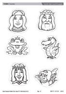 Fairytale clipart/popstick puppets