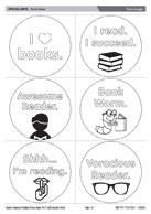 Book badges