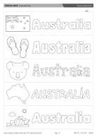 Aussie bookmarks