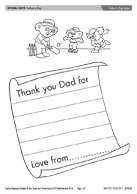 Father's Day letter