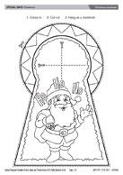 Christmas doorknob