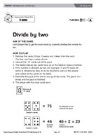 Divide by two