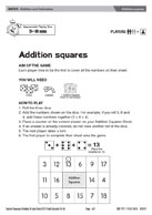 Addition squares