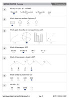 Y5 Numeracy Test Answers