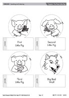 Teacher timesavers blms firefly education for The three little pigs puppet templates