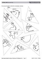 14 FREE ESL Australian animals worksheets
